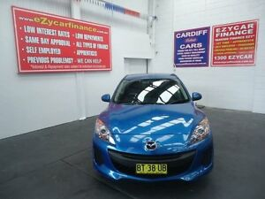 2012 Mazda 3 BL 11 Upgrade Neo Blue 5 Speed Automatic Hatchback Cardiff Lake Macquarie Area Preview