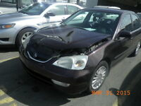 2002 ACURA EL FOR PARTING OUT