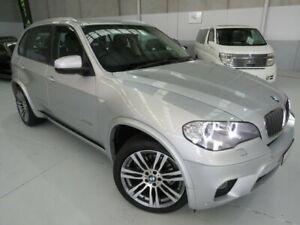 2013 BMW X5 E70 MY1112 xDrive30d Steptronic Titanium Silver 8 Speed Sports Automatic Wagon Seaford Frankston Area Preview