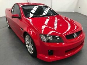 2010 Holden Commodore VE MY10 SV6 Red 6 Speed Automatic Utility Fyshwick South Canberra Preview