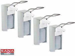 4 Eurospender Wandspender Seifenspender Desinfektionsspender Spender 500 ml