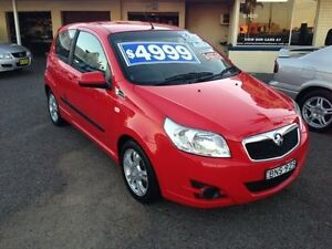 2010 Holden Barina TK MY10 Red 5 Speed Manual Hatchback Broadmeadow Newcastle Area Preview