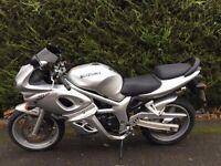 Suzuki SV650S 2002-K2