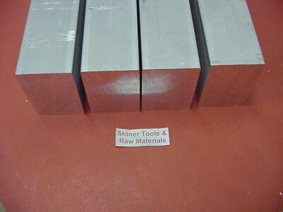 "4 Pieces 1//4/"" X 2/"" ALUMINUM 6061 FLAT BAR 15-1//2/"" long T6511 Mill Stock"