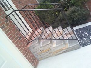 Metal railing and gates