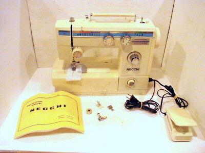 Швейная машина NECCHI-Sewing-Machine-535FA Zig-Zag Portable w/acc.