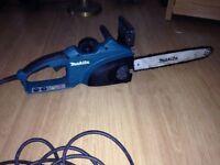 Makita chainsaw 240v