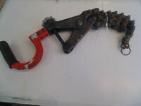 RIDGID CHAIN PIPE CUTTER FOR SALE @ ABC EXCHANGE!!!