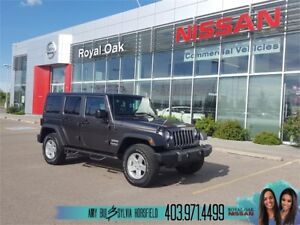 2016 Jeep Wrangler Unlimited Sport ** Accident Free **