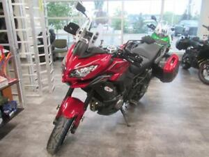 Sept21-28 this Kawasaki Vesys 1000 LT will be priced to sell! $$