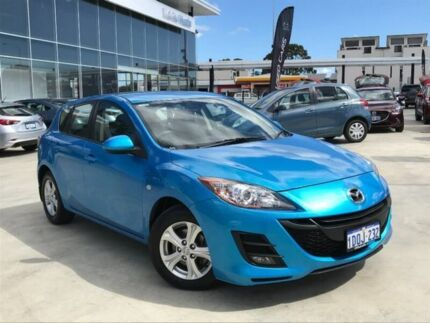 2010 Mazda 3 BL10F1 Maxx Activematic Blue 5 Speed Sports Automatic Hatchback Palmyra Melville Area Preview