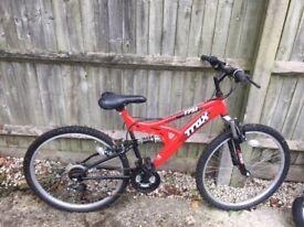 "Mountain Bike, 26"" red"