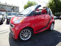 2013 SMART FORTWO PASSION CABRIOLET (GPS, BLUETOOTH, CRUISE!!!)