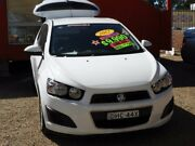 2012 Holden Barina TM MY13 CD White 6 Speed Automatic Hatchback Minchinbury Blacktown Area Preview