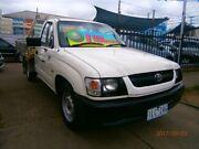 2003 Toyota Hilux RZN149R White 5 Speed Manual Cab Chassis Preston Darebin Area Preview