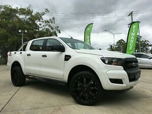 2015 Ford Ranger PX MkII XL Double Cab White Semi Auto Utility Southport Gold Coast City Preview