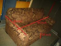 """Hide-a-Bed really As New - 84""""x42"""" comes from Non-Smoker's Home!"""