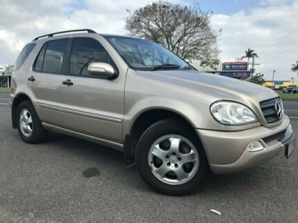 2002 Mercedes-Benz ML270 CDI W163 MY2002 Classic Fawn 5 Speed Sports Automatic Wagon