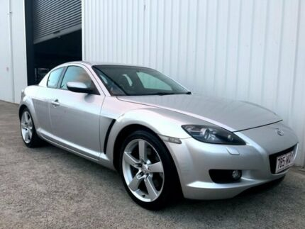 2004 Mazda RX-8 FE1031 Silver 4 Speed Sports Automatic Coupe Molendinar Gold Coast City Preview