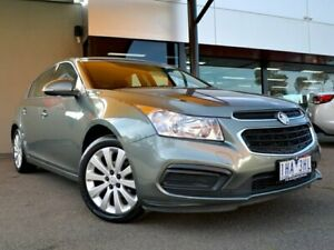 2016 Holden Cruze JH Series II MY16 Equipe Prussian Steel 6 Speed Sports Automatic Hatchback Fawkner Moreland Area Preview