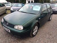 2002 VOLKSWAGEN GOLF 1.9 GT TDI 130 DIESEL UPGRADED ALLOYS 12 MONTHS MOT