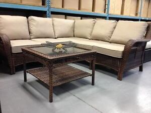 OUTDOOR SECTIONAL--CLEARANCE PRICED--OPEN VICTORIA DAY!