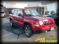 2015 Jeep Patriot HIGH ALTITUDE 4X4 LEATHER, SUNROOF!