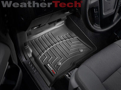 Weathertech Floor Mat Floorliner   Ford F 150   2010 2014   1St Row   Black