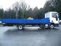 2008 Iveco Eurocargo 7.5 ton 21FT dropside truck