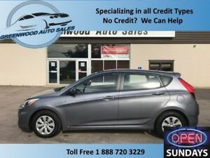 2016 Hyundai Accent SE! LOW KM! LIKE NEW! FINANCE NOW!