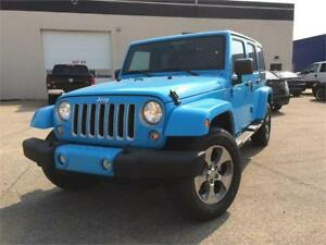 2017 Jeep Wrangler Unlimited Sahara | Delivery Available