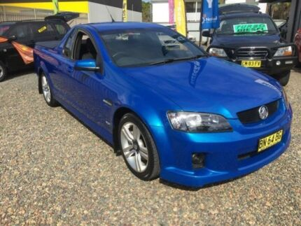 2009 Holden Commodore VE MY09.5 SS Blue 6 Speed Manual Utility