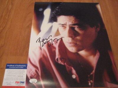 Benicio Del Toro Signed 11X14 Photo Psa Dna Traffic 1