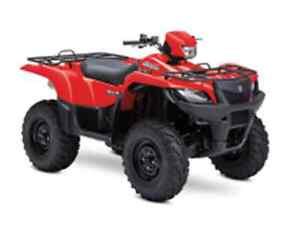 SUZUKI KINGQUAD 500 USE POWER STERING West Island Greater Montréal image 1
