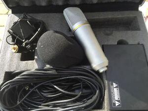 CONDENSOR RECORDING STUDIO MIC MICROPHONE DJ MICROPHONE