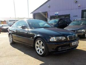 2001 BMW 330CI E46 M Sport Black 5 Speed Sports Automatic Coupe North St Marys Penrith Area Preview