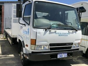 2004 Mitsubishi Fuso FK5.0 Fighter White 6 Speed Manual Trayback Beckenham Gosnells Area Preview