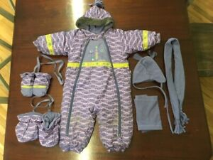 Cute snow suit (one piece) warm and stylish