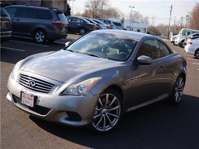 2009 INFINITI G37s Convertible Sport Convertible,automatic clean carfax service