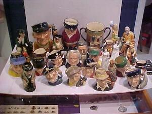 ROYAL DOULTON PACKAGE-TOTAL OF 25!!! TAKE THEM ALL FOR JUST $395.00 PICK UP IN bEAMSVILLE OR WILL SHIP .in CANADA only