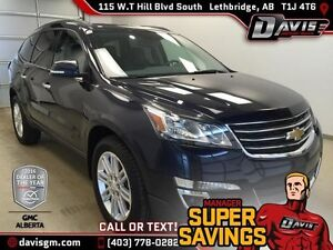 Used 2015 Chevrolet Traverse AWD LT-REAR VIEW CAMERA,BLUETOOTH
