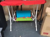 NEW AND UNUSED KIDS SWING SEAT