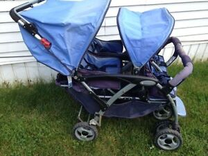Foundations - Quad 4-Passenger Stroller