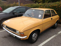 1979 Austin Allegro 1.3 Super Rare 2 door version with long mot and low mileage