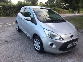 2015 FORD KA SILVER 1.2 EDGE HATCHBACK ONE YEAR MOT 15000 MILES ONLY CAT C IMMACULATE CONDITION