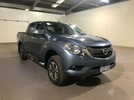 2016 Mazda BT-50 UR0YF1 XTR Blue Reflex Manual Dual Cab Utility Bibra Lake Cockburn Area Preview