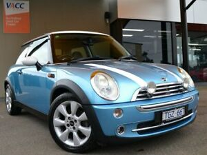 2004 Mini Hatch R50 MY05 Cooper Chilli Blue 6 Speed Constant Variable Hatchback Fawkner Moreland Area Preview