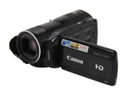 Canon VIXIA HF 301 HD Camcorder - NTSC