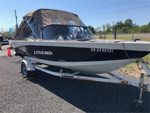 2010 Legend 18 Xcalibur with 90 4-stroke Mercury package