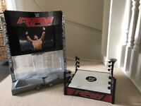 WWE Smackdown set and ring